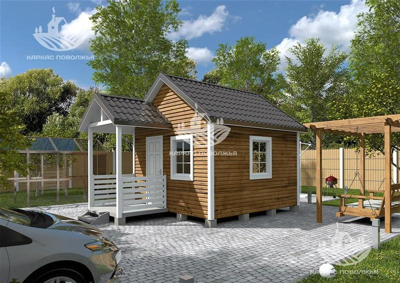Проекты строительства каркасных домов до 100 кв м из SIP